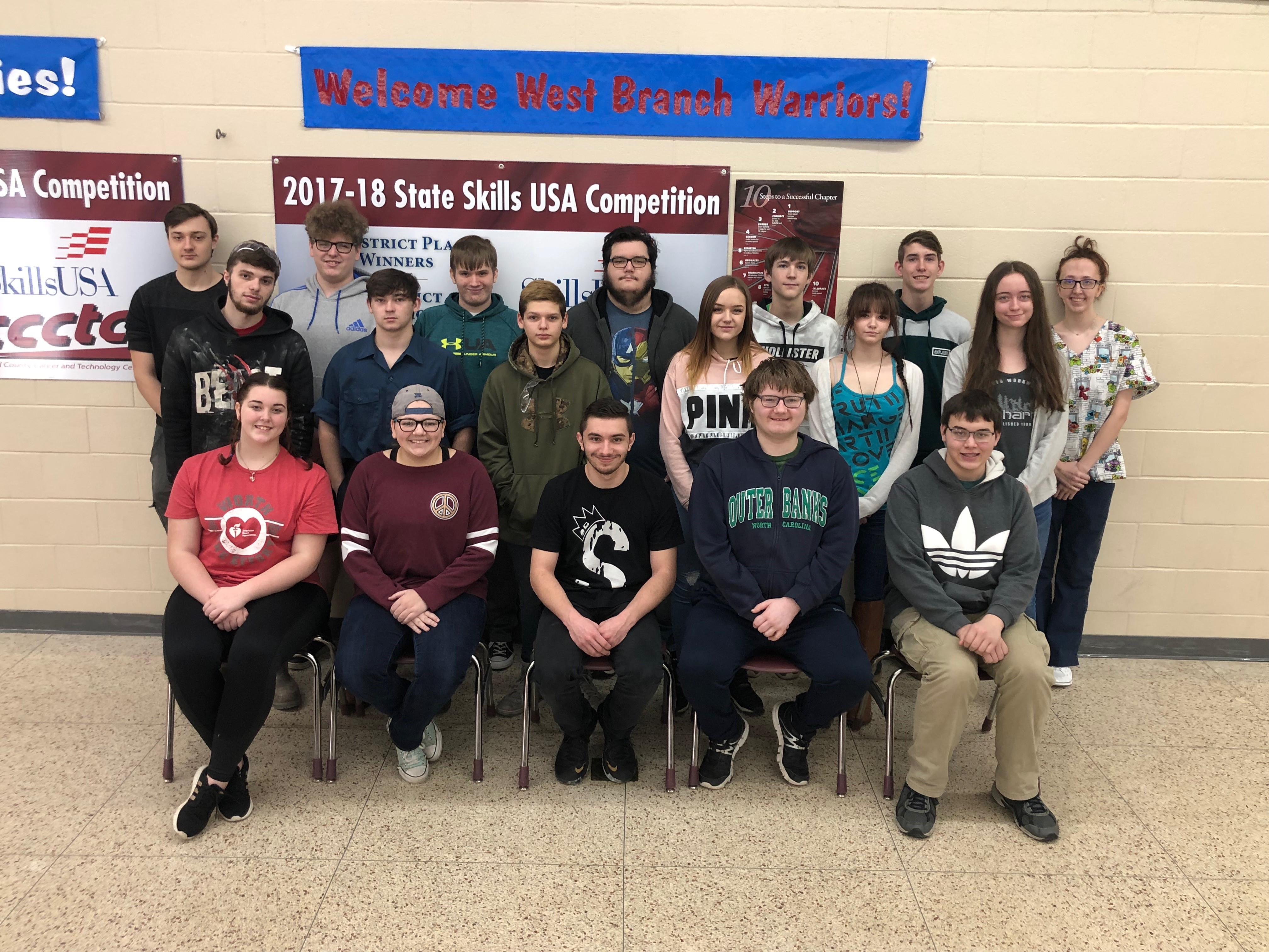 CCCTC Students Ready For District Skills Competition