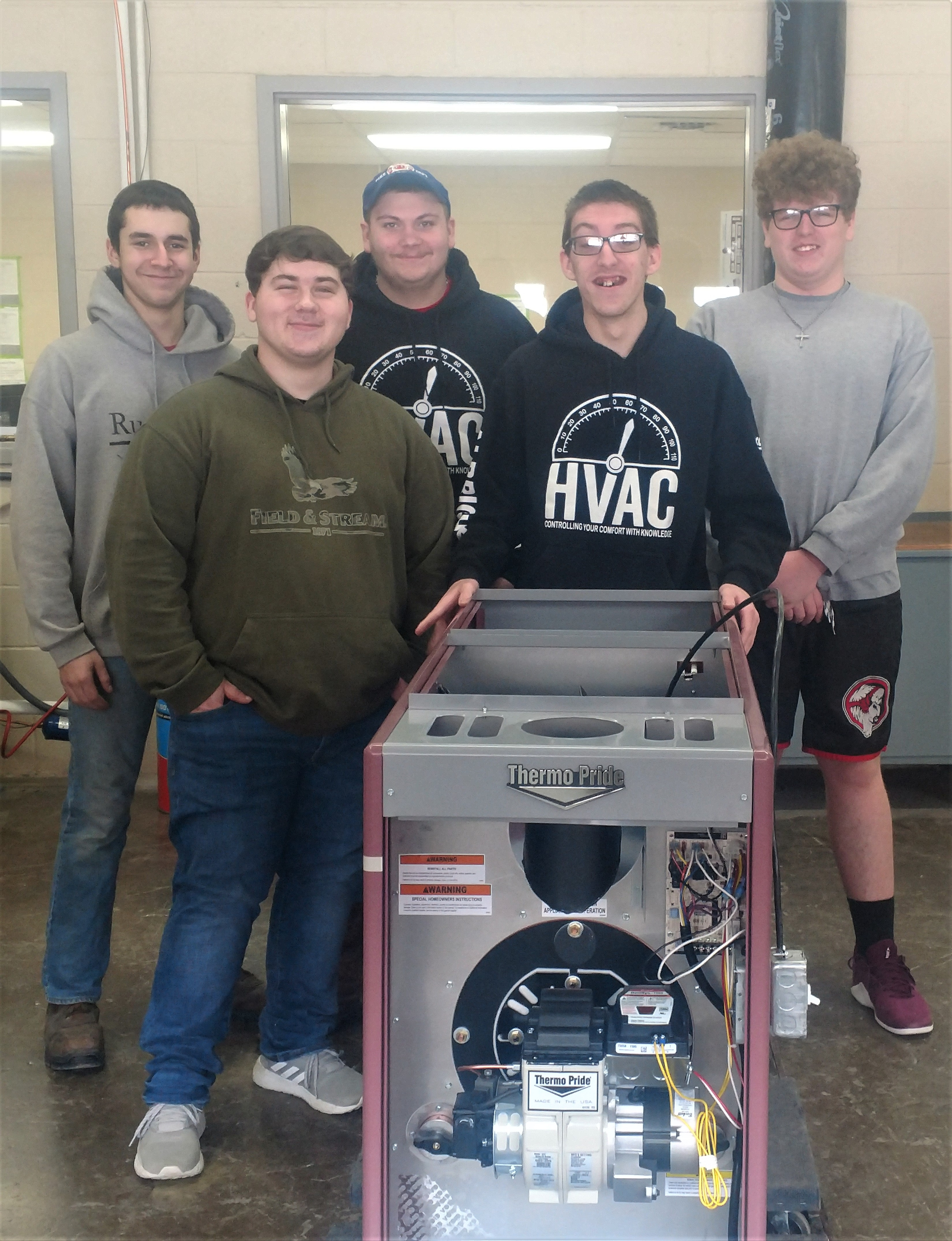 CCCTC Students in HVAC/R Receive Donations From Area Businesses