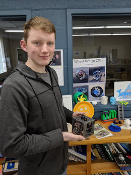 CCCTC Drafting and Welding Student Create Project