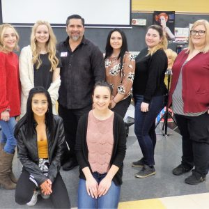 CCCTC Adult Cosmetology Students Receive Advanced Color Training