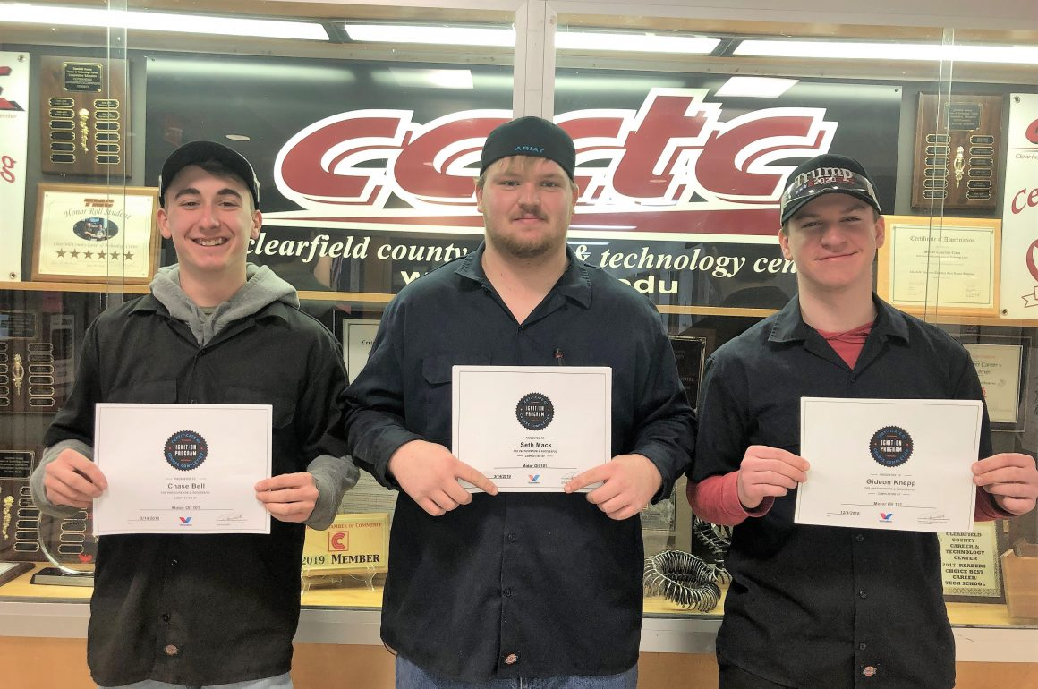 CCCTC Automotive Mechanics Students Earn Several Certifications