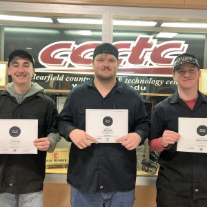 CCCTC Automotive Mechanics Students Earn Several Certifications