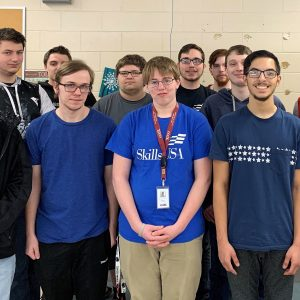 Former CCCTC Information Technology Student Presents to Class