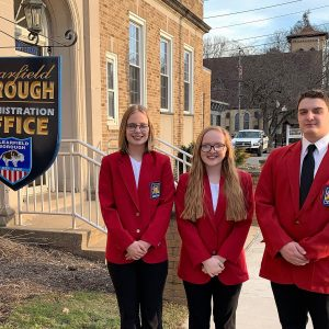 CCCTC SkillsUSA Students Present at Clearfield Borough Council Meeting