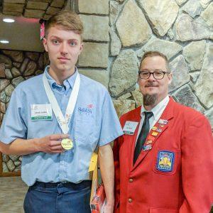CCCTC Automotive Mechanics Student is Skills USA State Champion