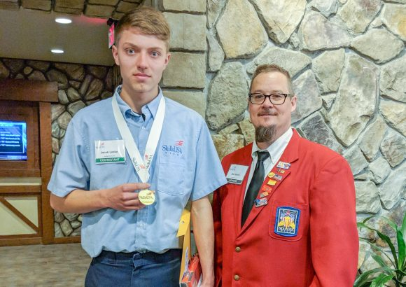 CCCTC Automotive Mechanics Student is Skills USA State Champion