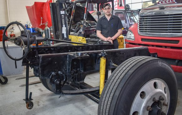 CCCTC Diesel Student Creates Training Module