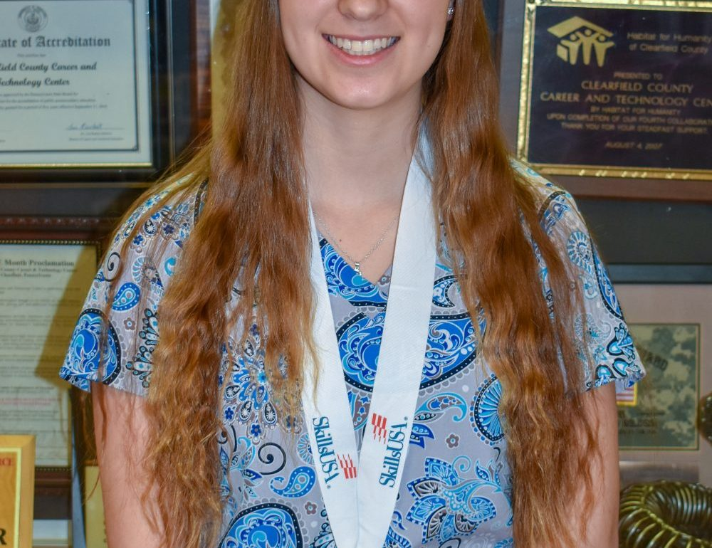 CCCTC Health Occupations Technology Student Takes 3rd at SkillsUSA State Competition