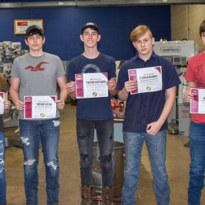 CCCTC Precision Machine Students Earn NIMS Credentials