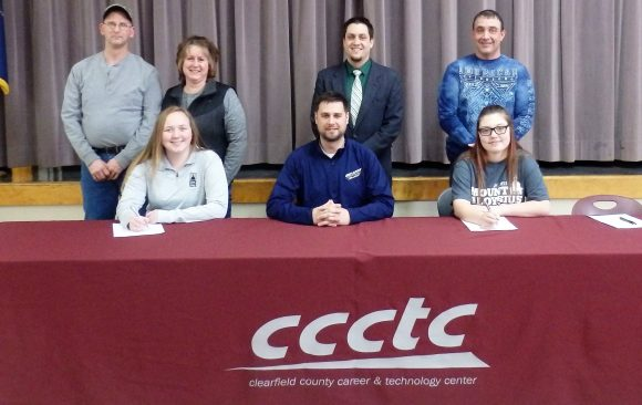 CCCTC Seniors Sign Letter of Intent at Career & Technical Letter of Intent Signing Day