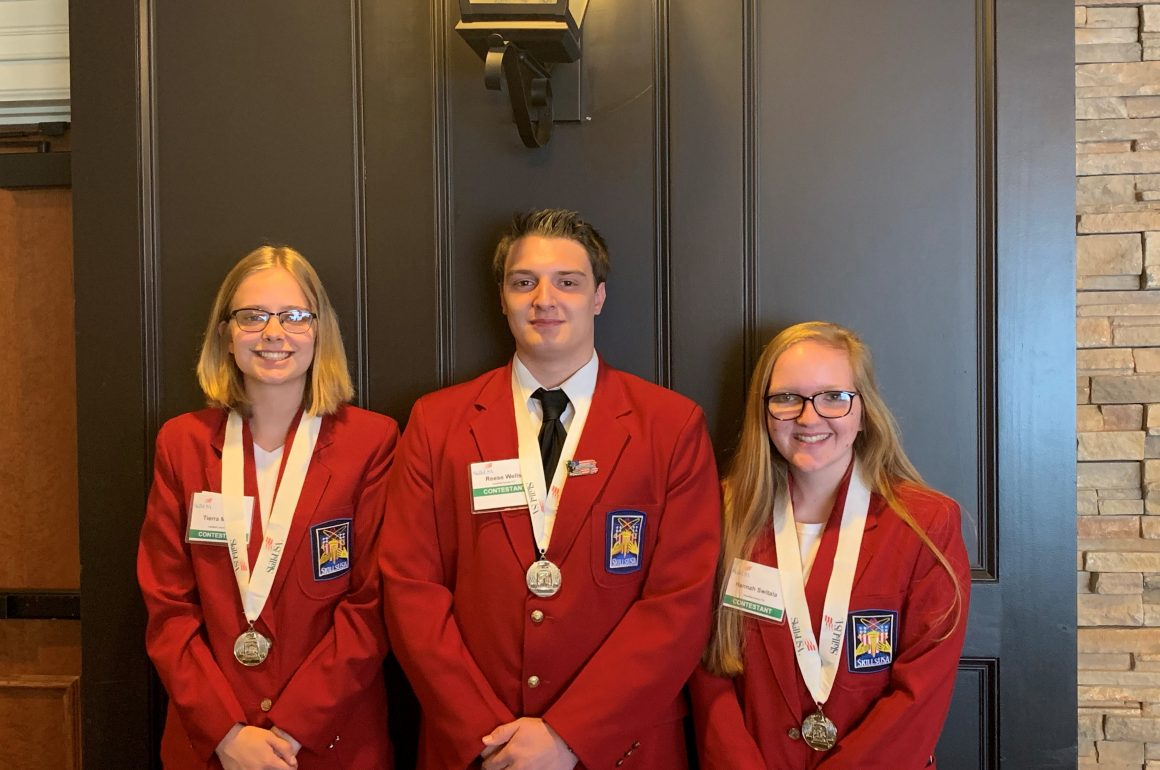 CCCTC Students Take Second in SkillsUSA State Competition