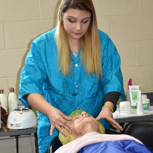 High School Cosmetology Class at CCCTC Hosts Spa Day to Raise Money for Scholarship