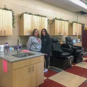 CCCTC Cosmetology Clinic Lab Gets Upgrade