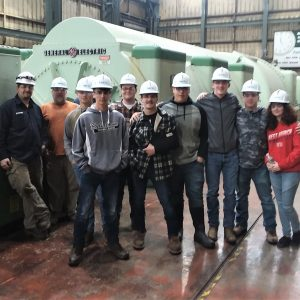 CCCTC Electrical Occupations Students Tour Shawville Powerplant