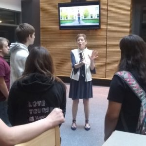 CCCTC Digital Media Arts Students Tour WPSU