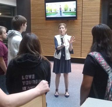 CCCTC Digital Media Arts Students Tour WPSU