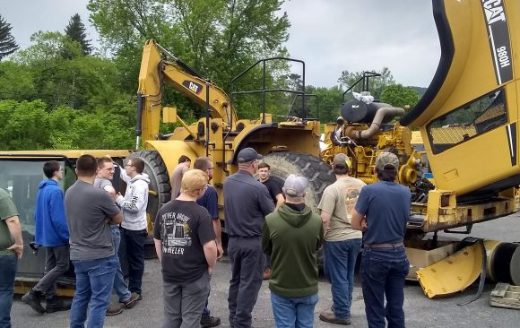 CCCTC Diesel Students Tour Cleveland Brothers