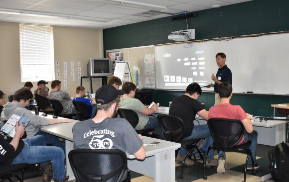 HVACR Students at CCCTC Receive HVAC Fujitsu Ductless Knowledge Class