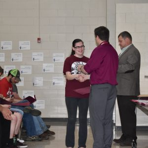 CCCTC Students Receive NOCTI Awards and College Credits