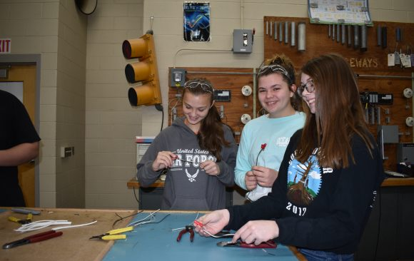 CCCTC Welcomes Curwensville 8th Grade Students