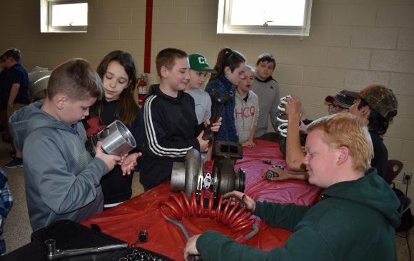 CCCTC Welcomes Philipsburg Osceola Fifth Grade Students