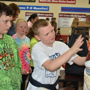 CCCTC Welcomes fifth grade Moshannon Valley & Soaring Heights Students