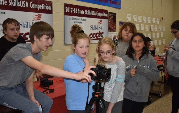 CCCTC Welcomes Curwensville Area School's 5th Grade class
