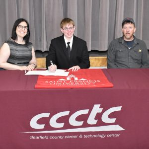 CCCTC Information Technology Student, Branden Evans, Earns 27 Free College Credits
