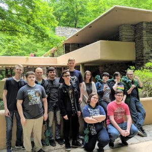 CCCTC Drafting and Design Students Tour Fallingwater and Ohiopyle State Park