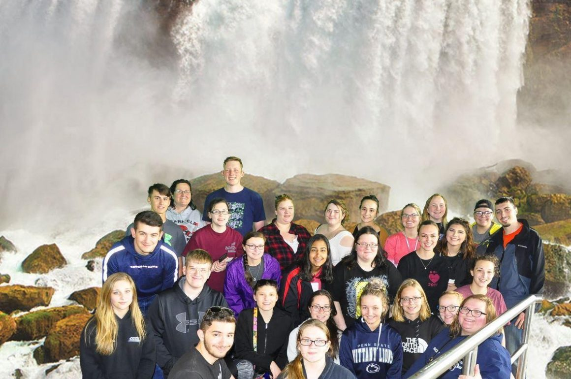 CCCTC National Technical Honor Society Students Visit Niagara Falls
