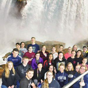 CCCTC National Technical Honor Society Students Visit Niagara Falls
