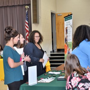 Area Employers in Need of RNs, LPNs, and CNAs Attend CCCTC's Career Fair