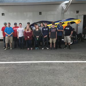 CCCTC Collision Repair Students Tour Beaverspring Dragway