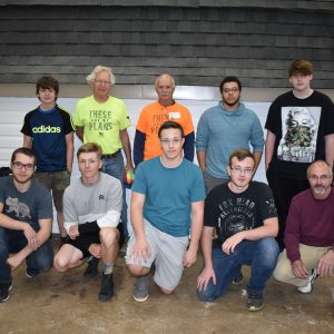 CCCTC Carpentry and Building Construction Students Assist Habitat for Humanity