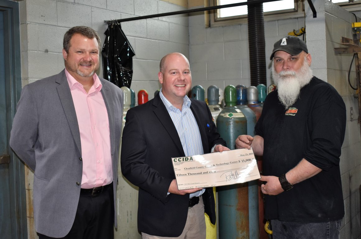 CCCTC Welding Program Receives Grant Through CCIDA