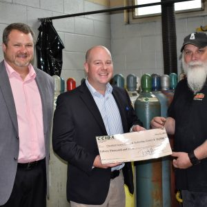 CCCTC Welding Program Receives Grant Through CCIDA