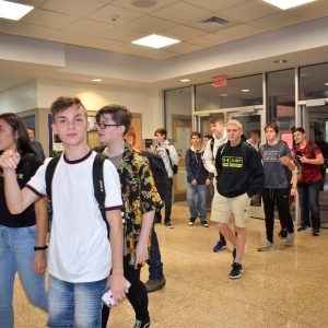 First Day of School for CCCTC Students