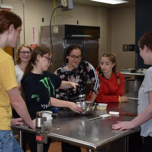 CCCTC's Culinary Arts & Food Management Students Learn How to Make Homemade Ice Cream