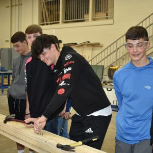 Clearfield Area 10th Grade Students Tour CCCTC