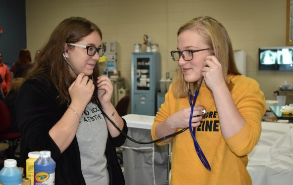 West Branch 10th Grade Students Tour Programs at CCCTC