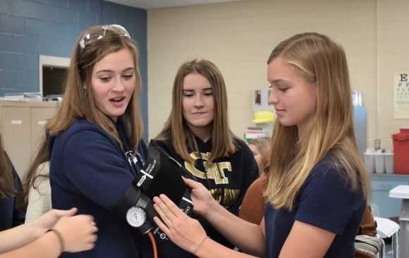 Curwensville 10th Grade Students Tour Programs at CCCTC