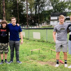 CCCTC Carpentry Students Start Process to Build Pavilion for Clearfield Little League Baseball Field
