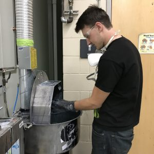 CCCTC Collision Repair Students Start Project on Blending Fenders