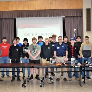 HVAC/R Students at CCCTC Learn About Gauges and Burners From Beckett Corporation