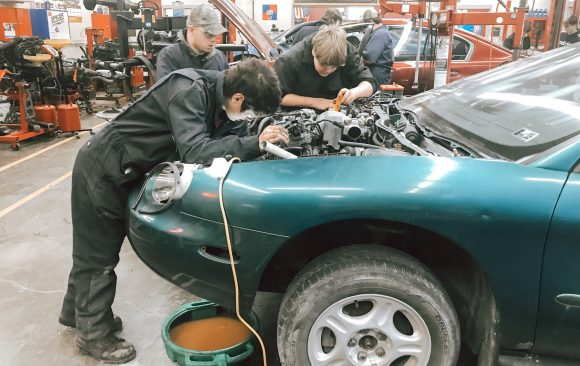 CCCTC Automotive Mechanics Students Remind Vehicle Owners About Preventive Maintenance