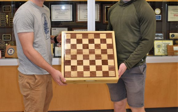 CCCTC Carpentry Students Finish Projects They Created