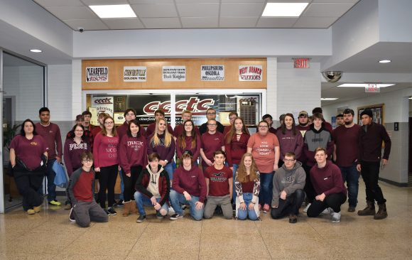 CCCTC Spirit Week-Maroon Out/CCCTC Spirit Day