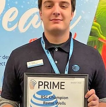 CCCTC Announce Reese Wells as Graduate of the Month