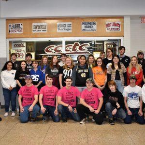 Sports Day at CCCTC During Spirit Week