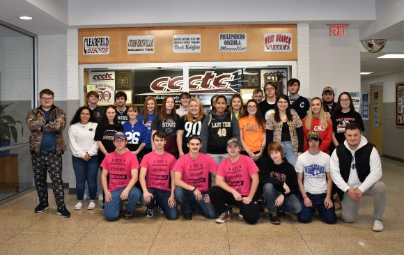 Sports Day at CCCTC During Spirit Week